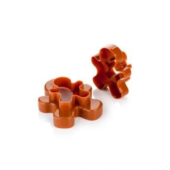 Tescoma Double-Sides Cookie Cutters Figures 4 Sizes Delicia Tes630867
