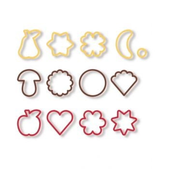 "Tescoma Traditional Cookie Cutters, 13 Pcs  ""Delicia"" TES630900"