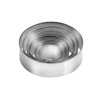 """Tescoma Set 6 Cookie Cutters Round Shaped """"Delicia"""" TES631360"""