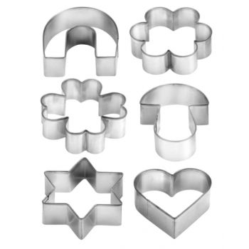 """Tescoma Cookie Cutters On Ring 6 Pcs """"Delicia"""" TES631380"""