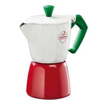 "Tescoma Coffee Maker, 6 Cup ""Paloma Tricolore"" TES647036"