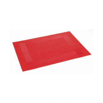 "Tescoma Place Mat 45X32 Cm, Red ""Flair Frame"" TES662095"