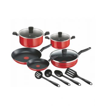 Tefal Essential Cookware Set 12 Pieces - Tfb3139062