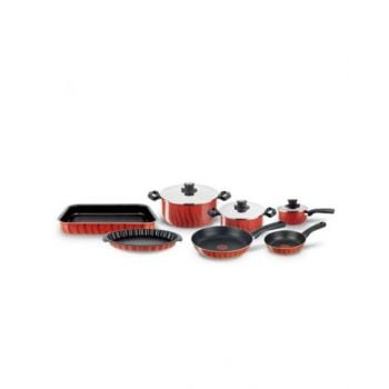 Tefal New Tempo Flame Set 10 Pieces - C5489982