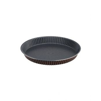 Tefal Success Aluminum Tart Mold Brown 24 Cm - J1608202