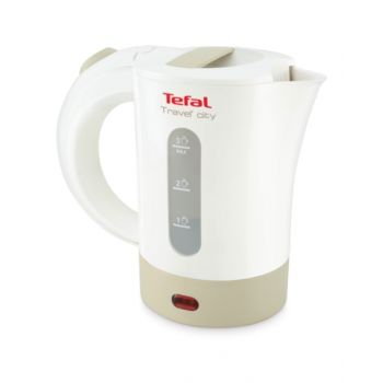 Tefal Kettle+Cup&Spoon Travel City 0.5L Tfko120127