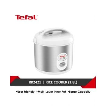 Tefal Rice Cooker Mecha Spherical 10 Cups  TFRK242127
