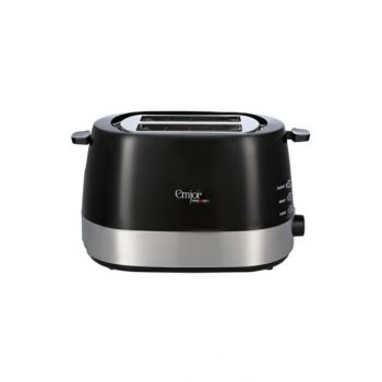 Emjoi Power Toaster, 2 Slots, Black - UET-351