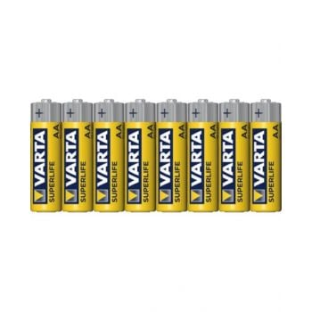 Vartasuperlife Mignon Aa Carbon Battery - Pack Of 8, Va206612