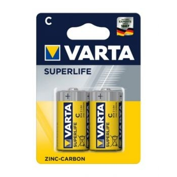 Vartasuperlife Baby C Zinc Carbon Battery - Pack Of 2, Va556304