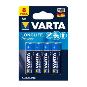 Vartalonglife Power Aa Battery - Pack Of 8, Va559596