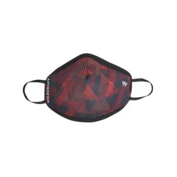 Wildcraft Face Mask Sublipnt Red WC14380021
