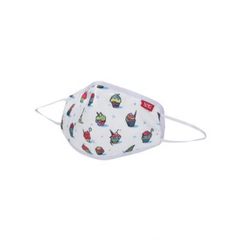 Wildcraft Face Mask Cupcake White Small WC14380306