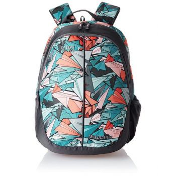 Wildcraft School Bag Planes Turquoise 18 Inch for Boys WCBP1P18TRQ