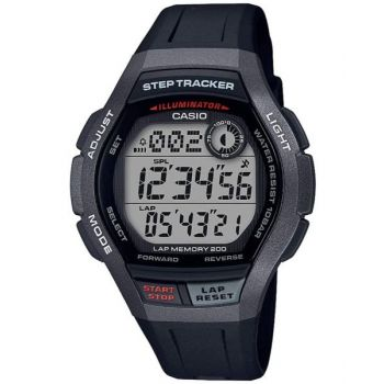 Casio WS-2000H-1AVDF Youth Sports Digital Resin Watch For Men